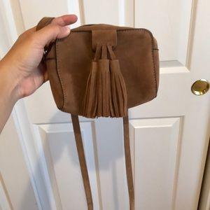 Brown crossbody bag from lulus